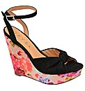 Ravel Louise floral Wedge