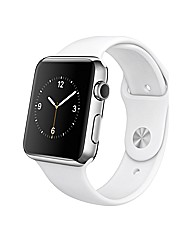 Apple 42mm Stainless Steel White