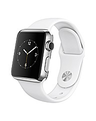 Apple38mm Stainless Steel  White