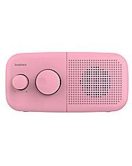 Goodmans Pebble DAB Radio - Pink