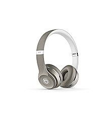 Beats Solo2 On-Ear Luxe Silver