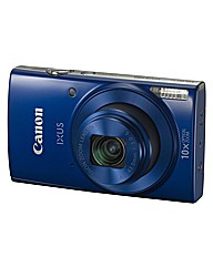 Canon IXUS 180 Camera Blue 20MP 10x WiFi