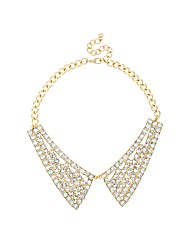Mood Crystal Collar Effect Necklace