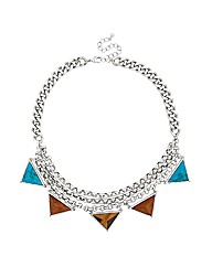 Mood Semi Precious Bunting Necklace