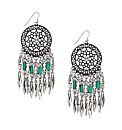 Mood Dream Catcher Chandelier Earring