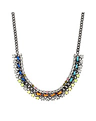 Mood Multicoloured Neon Thread Necklace