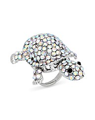Jon Richard Turtle Adjustable Ring