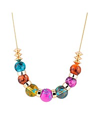 Mood Bright Bead Stacker Necklace