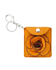 Mood Yellow Mirror Purse Keyring