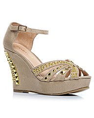 Moda in Pelle Yeezy Ladies Sandals