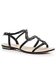 Moda in Pelle Venomous Ladies Sandals