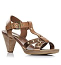 Moda in Pelle Lama Ladies Sandals