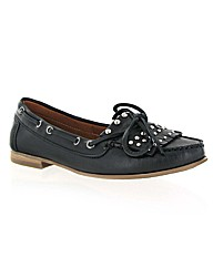 Marta Jonsson leather moccasin