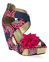 Ruby Shoo Goldie Wedge Sandal