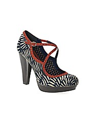 Ruby Shoo Viv Heeled Court Shoe
