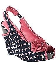Ruby Shoo Shirley Summer Wedge