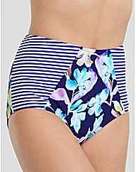 Edie Floral High Waisted Brief