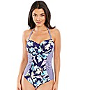 Edie Floral Underwired Swimsuit