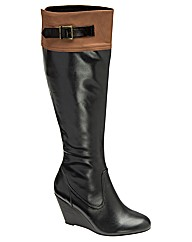 Ravel Keifer knee high wedge boot