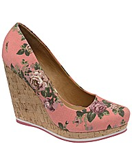 Dolcis Pointy Cork Wedge