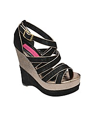 Dolcis Strappy Wedge