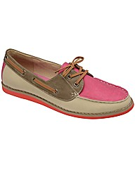 Dolcis Lace Up Boat Shoe