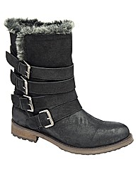 Ravel Keanu faux fur lined ankle boot