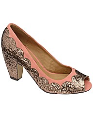 Dolcis Glitter Court Shoe