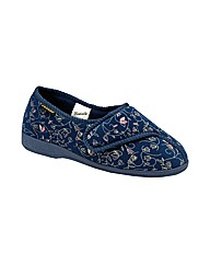 Dunlop Bluebell Velcro Slipper