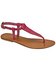Ravel July flat toe post sandal