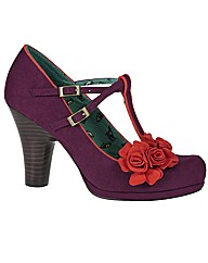 Ruby Shoo Uma T-Bar Court Shoe