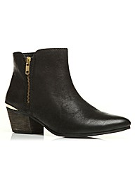 Moda in Pelle Crinkle Ladies Boots