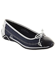 Beam Sailcloth Pump Boat Shoe