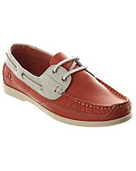 Julie Canoe Fronted Leather Boat Shoe