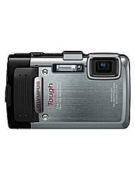 Olympus TG-830 Tough Camera Silver 16MP