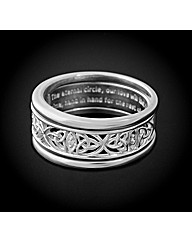 Silver Together Forever Triple Ring Set