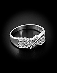 9ct White Gold 0.75ct Diamond Ring