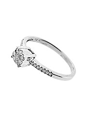 9ct White Gold 0.20ct Diamond Ring