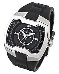 Gents Police Strap Watch