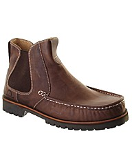 Duke Cleated Leather Chelsea Boot