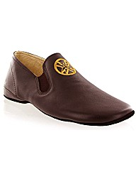 Jonsson leather slipper