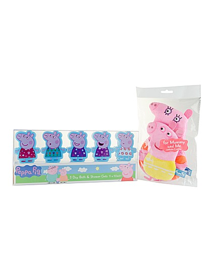 Peppa Pig Washing Peppa Pig 5 x 50ml Bath Shower