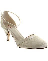 Rainbow Club Penny Strap Wedding Shoe