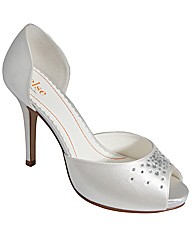 Else Pina Colada Peep Toe Occasion Shoe