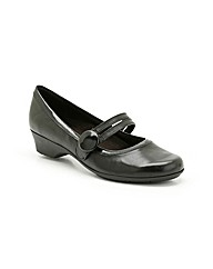 Clarks Womens Ella Jazz Wide Fit