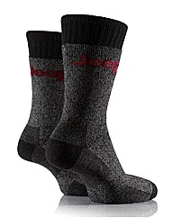 2 Pr Jeep Chunky Boot Socks