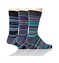 3 Pk Kickers St Germain Stripe Socks