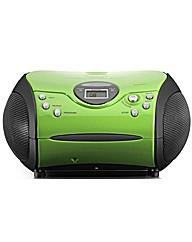 Lenco Portable Radio CD Player - Green