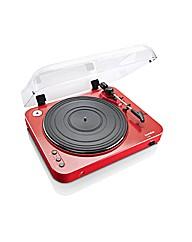Lenco L-85 USBDirect Record Turntab-Red
