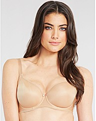 Smoothing underwired balconette bra